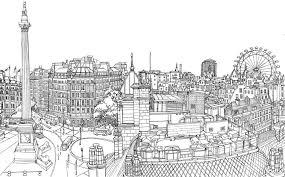 Kleurplaat Europa Engeland Londen 3