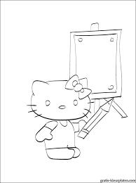 Kleurplaat Hello Kitty Gratis Kleurplaten