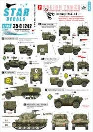 Polish Tanks In Italy 1943 45 3 Afvs And Armoured Cars Decal Hobbysearch Military Model Store