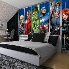 Marvel Avengers Teenagers Kids Photo Wallpaper Wall Mural Room Decor 964ve Ebay Marvel Bedroom Avengers Room Marvel Room