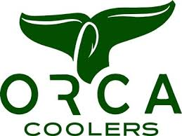 Orca Coolers Orca Whale Tail Window Decal Marsh Mutt Hunting Supplies