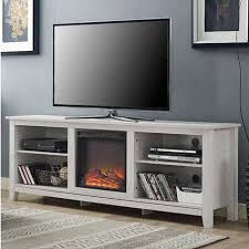 inch tv stand fireplace space heater