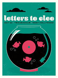 Letters To Cleo / / der Troubadour West Hollywood CA | Etsy | Cleo, West  hollywood, Music poster