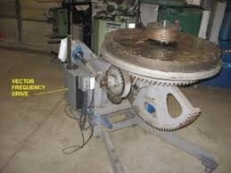 homemade welding positioner