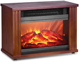 infrared fireplace heater 1200w