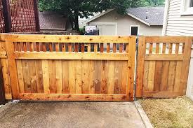Wood Privacy Fence Builder Arrow Fence Company Tulsa Oklahoma
