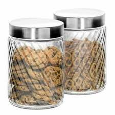 klikel glass canister set for the