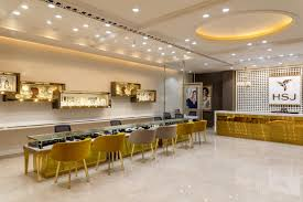 hsj jewellery showroom interior design