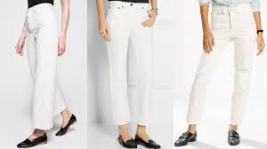 pull off white jeans