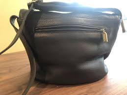 coach vintage handbag brown leather
