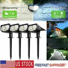 solar pathway lights outdoor led