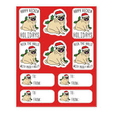 Pug Sticker And Decal Sheets Lookhuman