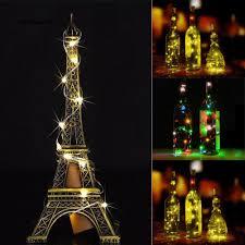 Dây Đèn Led 1.4M 15 Bóng Hình Nút Bần Chai Rượu Vang Trang Trí Tiệc Giáng  Sinh