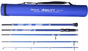 new rods from shakespeare 2017 agility