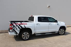 Rear Bed End Decals Graphics Fit For Toyota Tundra 3th Gen Etsy In 2020 Toyota Tundra Tundra Back Window Decals