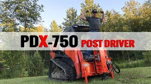 Video New Eterra Pdx 750 Post Driver For Skid Steer And Excavators For Construction Pros