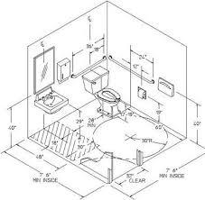 ada bathroom layout commercial