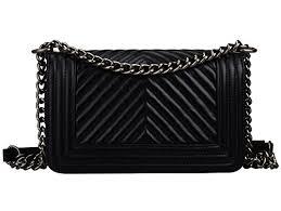 bagroo genuine leather handbags quilted