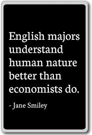 com english majors understand human nature better t