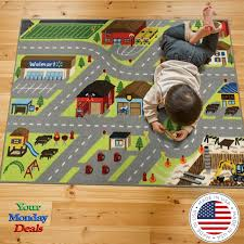 The Rug House Childrens Play Village Mat Town City Roads Rug For Sale Online Ebay