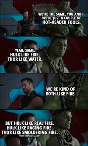 which is your favorite dialogue or conversation in marvel films