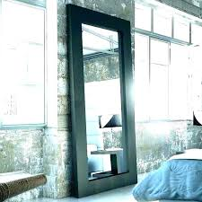 arched mirror with panes butler