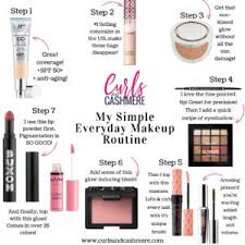 my simple everyday makeup routine