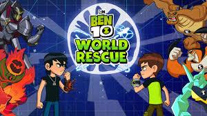 world rescue ben 10 games cartoon