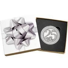 25th anniversary silver round silvertowne