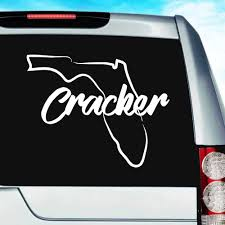 Florida Native Pirate Decal White Choose Size Sports Outdoors Car Vehicle Accessories Decals