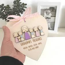 nanny or grandma s keepsake heart