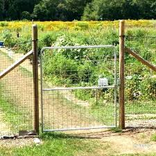 Build Wire Fence Gate Build Wire Fence Gate Medium Size Of Fencing Making Welded How To Make A Garden With T Post Fence Gate How Wire Fence Fence Nyc Penthouse