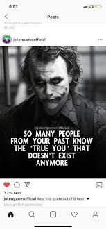 joker quotes people comes in your life silence and