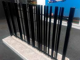Garden Fence Barcode Zaun Fencing For Public Spaces Industrial With Bars
