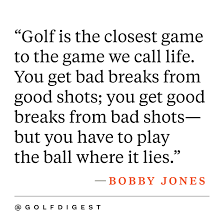 inspirational golf quotes golf digest