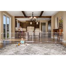 Regalo 192 Inch Super Wide Adjustable Baby Gate And Play Yard 4 In 1 Includes 4 Pack Of Wall Mounts White Walmart Com Walmart Com