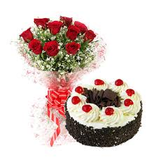 cakes and flowers in lpu local