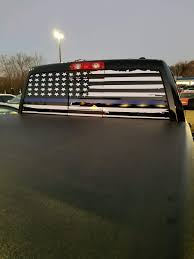 Distressed Black And White American Flag American Flag Rear Window Decals Best Car Insurance