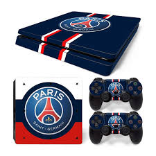 Psg Skin For Ps4 Slim Stickers Macmaniack England