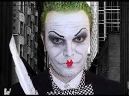 jack nicholson mime makeup tutorial