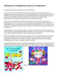 Imagenes De Cumpleanos Frases De Cumpleanos By