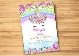 Plantilla De Unicornio En Powerpoint Unicorn Invitation Mega Idea