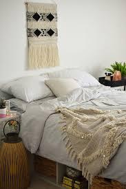 teen girl boho neutral bedroom ideas