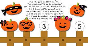 Five Little Pumpkins Printable Activity Totschooling Toddler Preschool Kindergarten Educational Printables