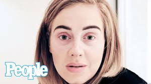 adele cancels show goes makeup free