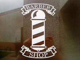 For Barber Pole Shop Sign Window Mirrors Doors Salon Barbers Vinyl Sticker Decal Fun Various Sizes Car Stickers Aliexpress
