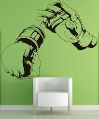 Vinyl Wall Decal Sticker Mma Hands 1481 Stickerbrand