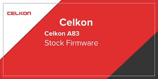 Celkon A83 Stock Firmware