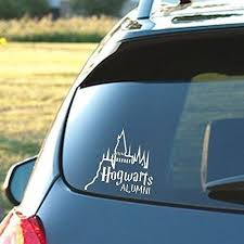Hogwarts Alumni Castle 6 Car Truck Vinyl Decal Art Wall Sticker Harry Potter Movies Books Hogwarts Alumni
