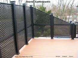 Vinyl Lattice Panels Black Lattice Panels Privacy Lattice Panels Vinyl Lattice Panels Fence Design Lattice Fence